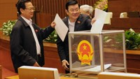 Results of parliamentary confidence vote on Vietnam's top leadership