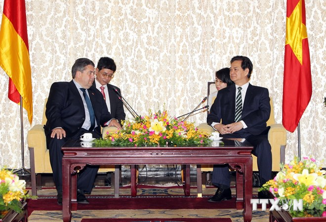 East Sea stability of 'vital interest' for Germany, vice chancellor said.