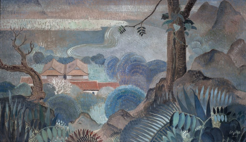 'View From the Hilltop', an oil on canvas painting by Le Pho which sold for $840,000 on Nov. 22 at Christie's Hong Kong, setting an auction record for a Vietnamese painting.