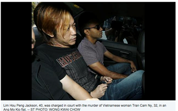 Vietnamese woman murdered in Singapore identified