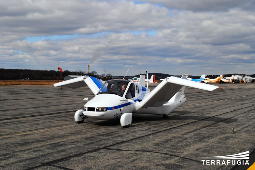 Move over, drones: The future of the flying car is here. (Courtesy of Terrafugia)