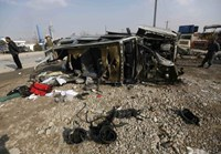 Motorcycle suicide bomber hits British embassy vehicle in Afghan capital