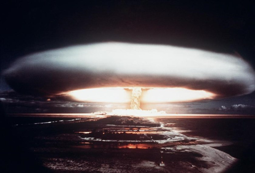 There are 16,300 atomic weapons in the hands of nine countries, and a new book by US author Eric Schlosser examines how close the world came to an accidental nuclear detonation during the Cold War