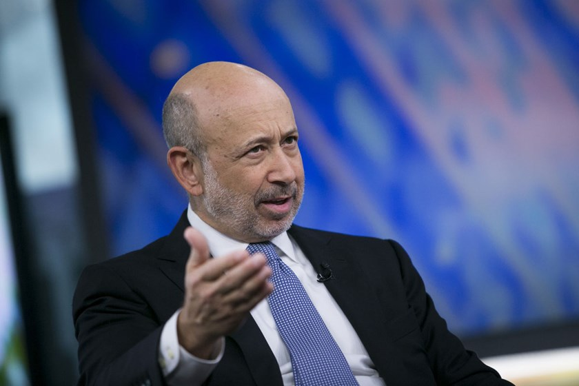 Blankfein says 'i don't know' If China manipulates economic data