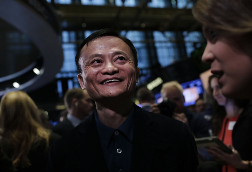 Billionaire Jack Ma, chairman of Alibaba Group Holding Ltd.