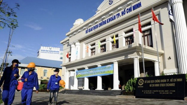 The Ho Chi Minh City Stock Exchange building. Photo courtesy of Tuoi Tre
