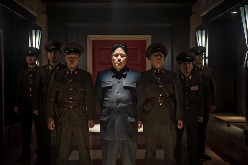 Randall Park as Kim Jon Un stars in 'The Interview'.