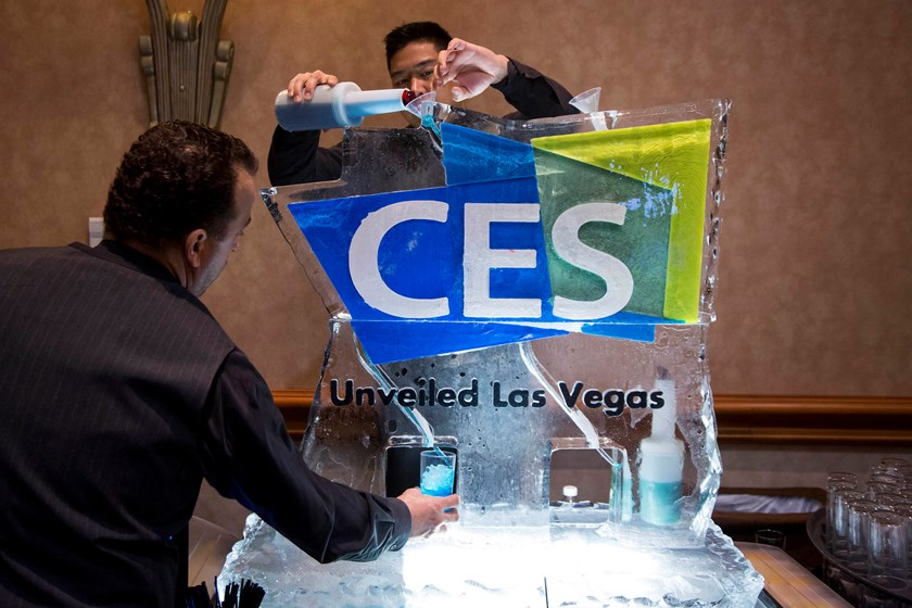 The CES Unveiled press event ahead of the 2015 Consumer Electronics Show in Las Vegas on Jan. 4, 2015.