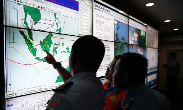 The search operation for Flight QZ8501 is based out of Jakarta, Indonesia and consists of personnel, equipment and planes and vessels from Indonesia, Malaysia, Singapore and Australia.