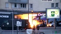 French forces kill newspaper attack suspects, hostages die in second siege