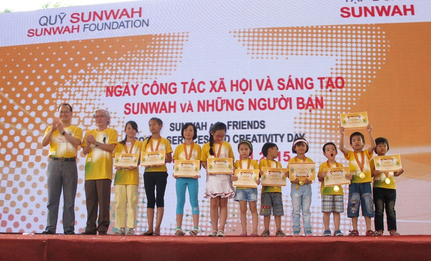 Sunwah Foundation promotes community, creativity spirits in HCMC downtown