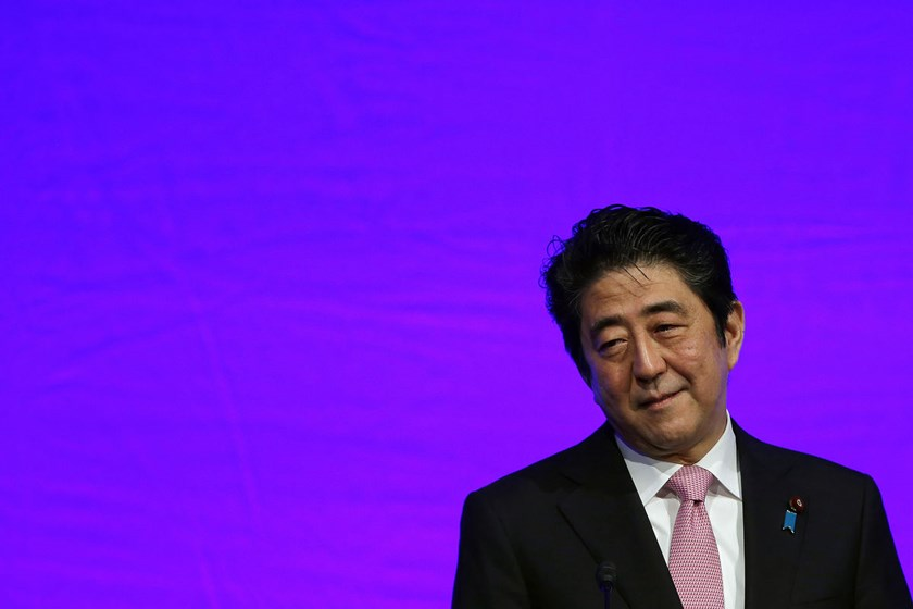 Shinzo Abe, Japan's prime minister, has said he upholds previous statements of contrition on the 50th and 60th war anniversaries and will make a new declaration in August.
