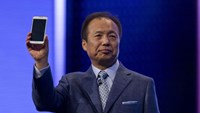 "Samsung Co-Chief Executive Officer Shin Jong-Kyun said, ""We want to work with BlackBerry and develop this partnership, not acquire the company."""