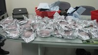 The synthetic drugs found in the suitcase of a Canadian man in Tan Son Nhat Airport Jan. 28
