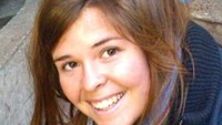 Kayla Mueller in an undated photo.