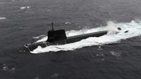 A Japan Maritime Self-Defense Forces diesel-electric submarine Soryu is seen in this undated handout photo released by the Japan Maritime Self-Defense Forces, in this file picture obtained by Reuters on September 1, 2014.