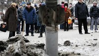 New violence in Ukraine diminishes hopes before four-way summit