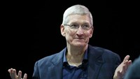 Apple CEO Tim Cook speaks at the WSJD Live conference in Laguna Beach, California October 27, 2014.