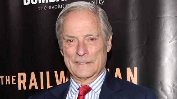 Bob Simon attends the ''Railway Man'' premiere on April 7, 2014 in New York, United States.