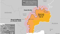 GRAPHIC: Ukraine Cease-Fire Map