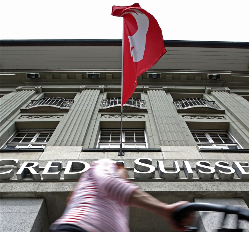 A Credit Suisse Group AG bank branch in Bern, Switzerland.