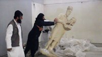 Islamic State says it destroyed ancient relics in Mosul museum