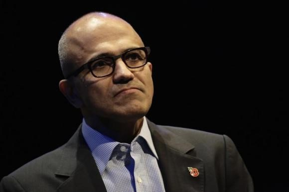 Microsoft CEO Satya Nadella speaks at the Future Decoded conference in London November 10, 2014.