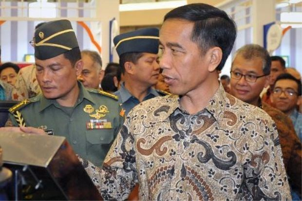 Indonesian President Joko Widodo, pictured in Jakarta on March 12, 2015, is kicking off a week-long tour of Japan and China aimed at attracting investment and boosting defence co-operation. Photo: AFP