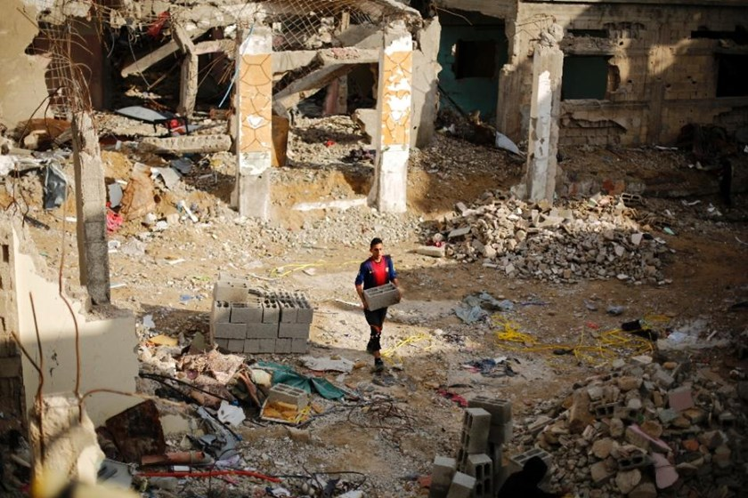 Nearl 3,000 people were killed in the 2014 Gaza conflict which ended with a truce between Israel and Hamas