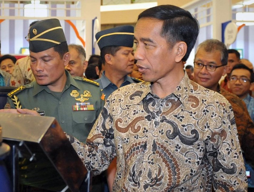 Indonesian President Joko Widodo, pictured in Jakarta on March 12, 2015, is visiting Japan and China, seeking to attract investment and boosting defence co-operation. Photo: AFP
