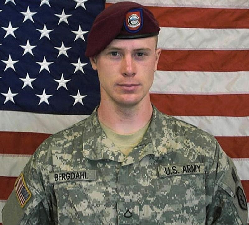 U.S. Army Sergeant Bowe Berghdal is pictured in this undated handout photo provided by the U.S. Army and received by Reuters on May 31, 2014.