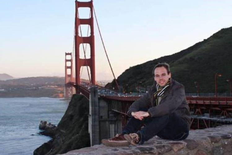 A photo taken from Facebook shows Andreas Lubitz, the co-pilot of the Germanwings Airbus A320 plane that crashed in the French Alps on Tuesday.