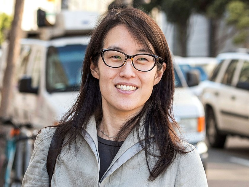 Ellen Pao, former junior partner at Kleiner Perkins Caufield and Byers, exits state court in San Francisco, on March 25, 2015.