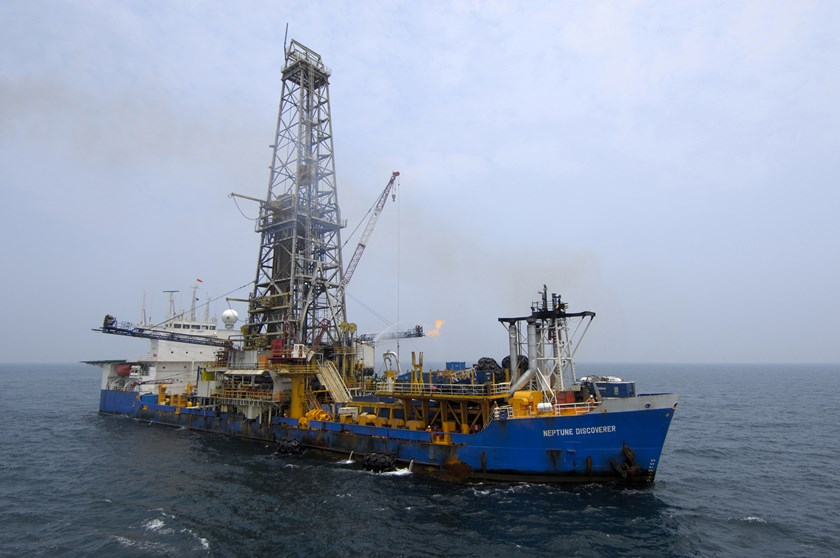 Gazprom's Geological exploration offshore Vietnam