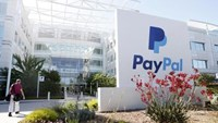 A PayPal sign is seen at an office building in San Jose, California May 28, 2014.