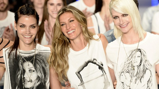 Gisele knew when to step off the catwalk