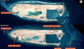 Vietnam protests China's reclamation in East Sea islands