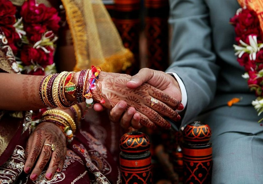 An Indian bride was ordered to pay compensation or live with her abandoned neighbour in the desert state of Rajasthan