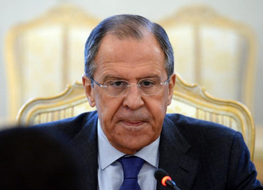 Foreign Minister Sergei Lavrov says the country faces a threat from Russian citizens returning home after going to fight for the Islamic State group