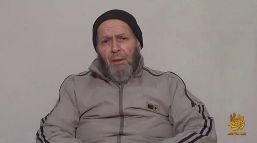 American hostage Warren Weinstein is shown in this image captured from an undated video courtesy of SITE Intelligence Group.