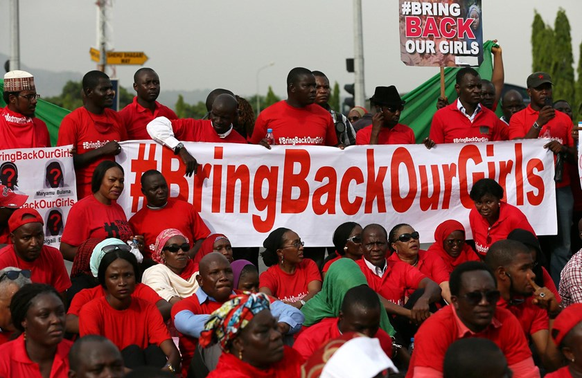 Nigerian army says rescues hundreds of girls from Boko Haram camps