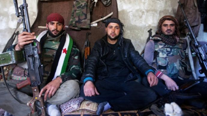 Rebels of the Free Syrian Army