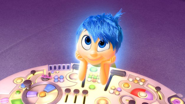 Joy, from the film Inside Out, is voiced by Amy Poehler. Source: Disney/Pixar via Image.net
