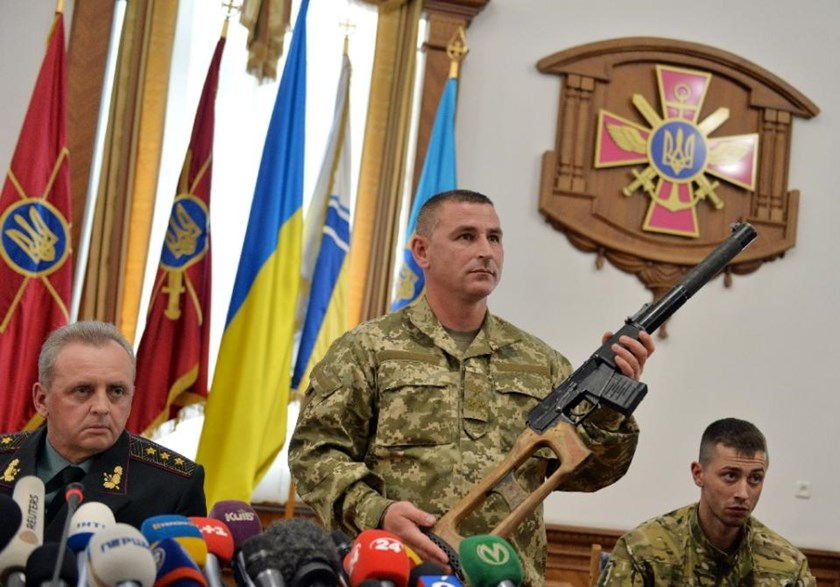 Kiev shows off captured 'Russian soldiers' to media