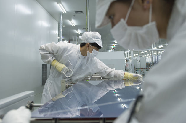 A 24-minute, $19 billion wipeout threatens a Chinese company's solar dream