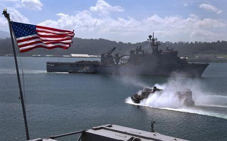 U.S.-Asia amphibious forces gathering signals nudge to China containment
