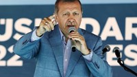 Turkey's President Tayyip Erdogan speaks during an opening ceremony in Istanbul, Turkey, May 26, 2015.