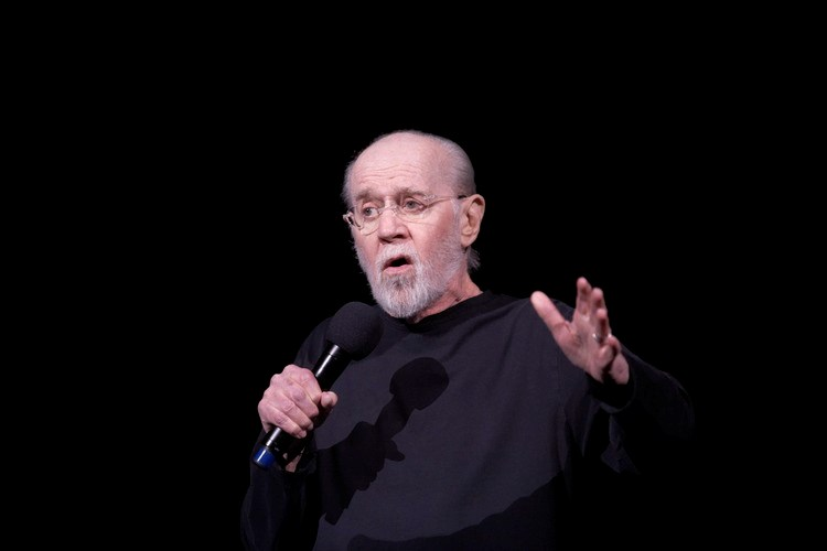 George Carlin performing in Vancouver on May 5, 2007. Photographer: Kevin Statham/Redferns via Getty Images