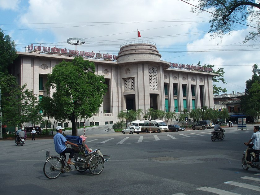 Hanoi-based State Bank of Vietnam. Photo: Nguyen Thanh Quang