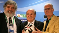 Chuck Blazer has long been associated with Fifa and Sepp Blatter. Credit: Reuters